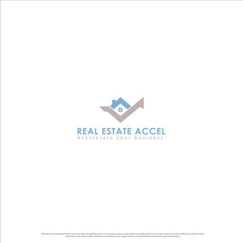 bold logo for real estate