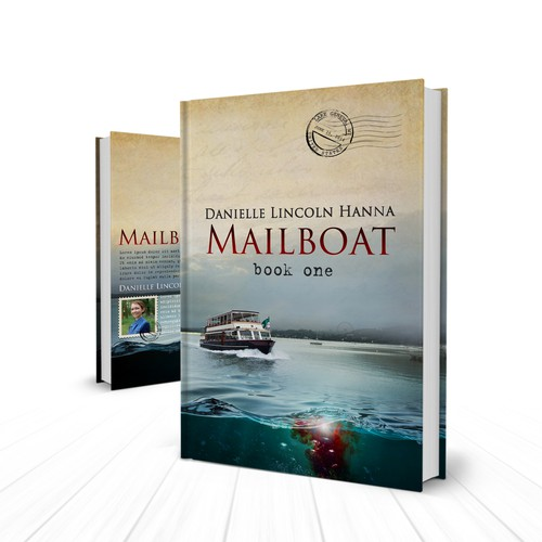 Book Cover for a Mystery Novel, MAILBOAT: Book One
