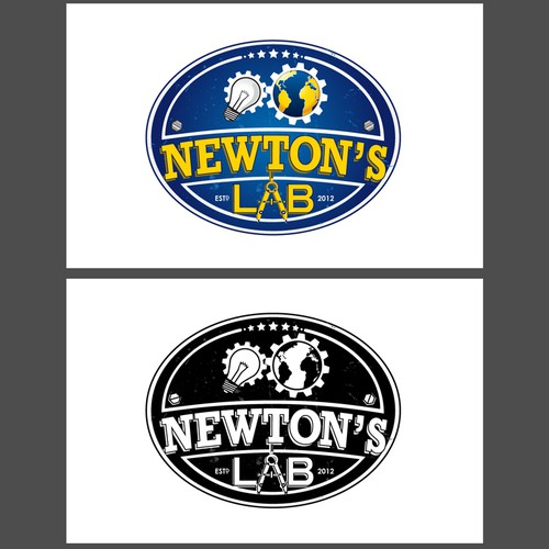 Logo Design for Newton's Lab