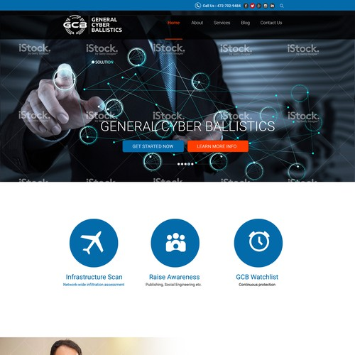 web design idea for a corporate