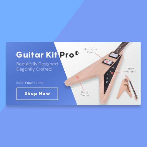 GuitarKit Pro banner ad