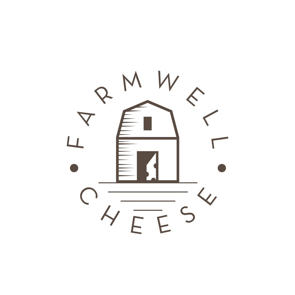 Farmwell Cheese, a modern and inviting shop in California needs a logo