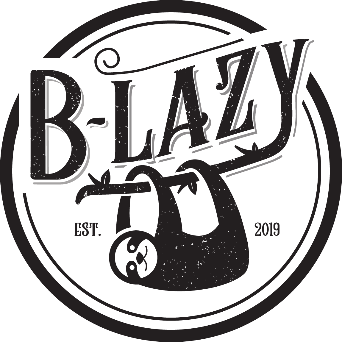 Different Colors Background Logo for B-Lazy