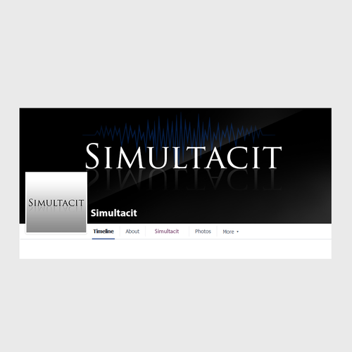 Authentic design for EDM Producer Simultacit