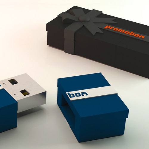 Concept USB flash drive.