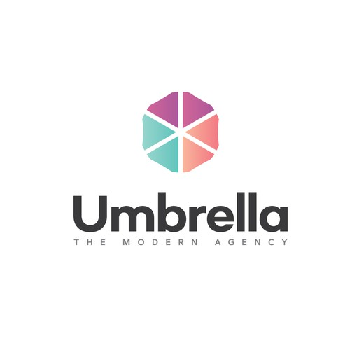 Umbrella logo concept