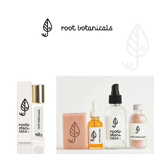 Logo for Root Botanicals