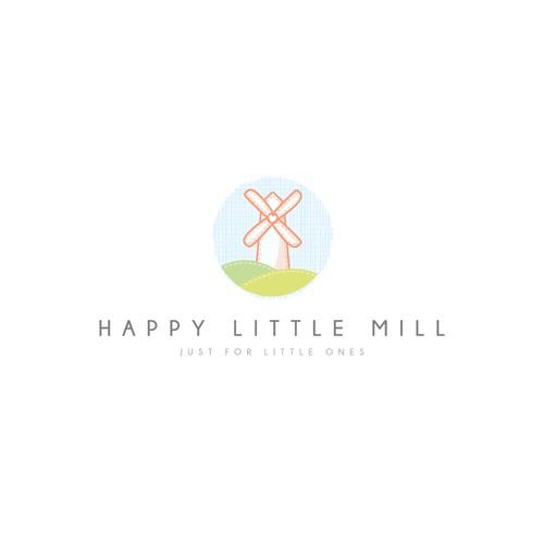 Happy Little Mill - Clean, soft & minimal - Winning design