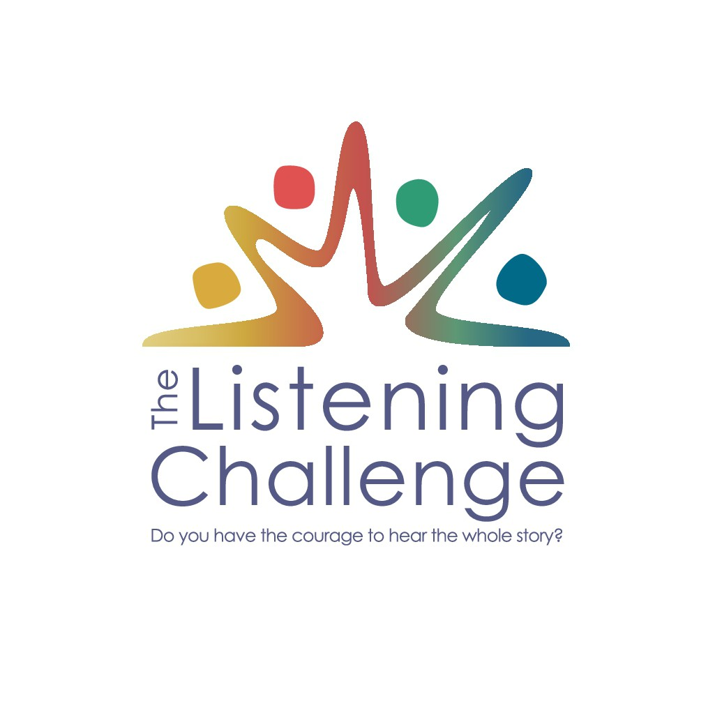 Strong but authentic logo for social media challenge to foster conversations across political divides