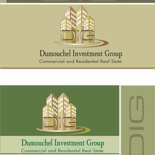 NEED LOGO & BUS. CARDS FOR REAL ESTATE COMPANY