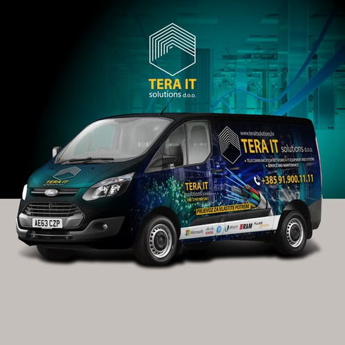 Network Company Van
