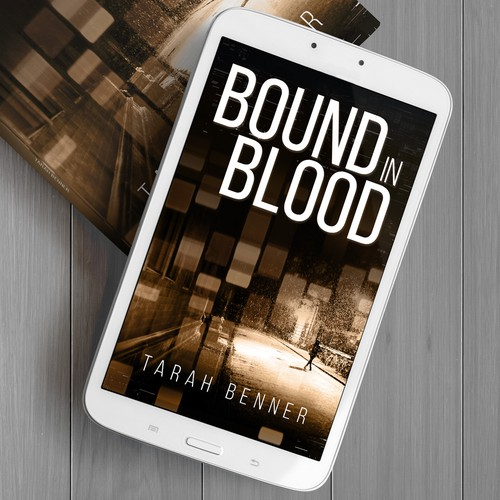 """Cover design for """"Bound in Blood"""""""