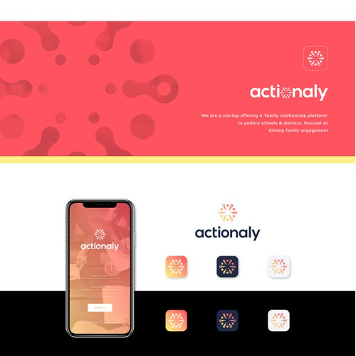 Logo design for Actionaly