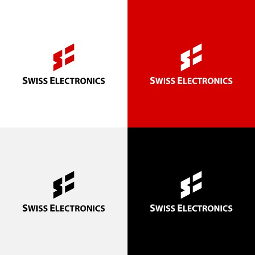 Logo for the company Swiss Electronics