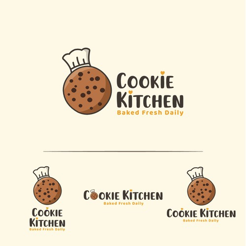 Cookie Kitchen Logo Concept