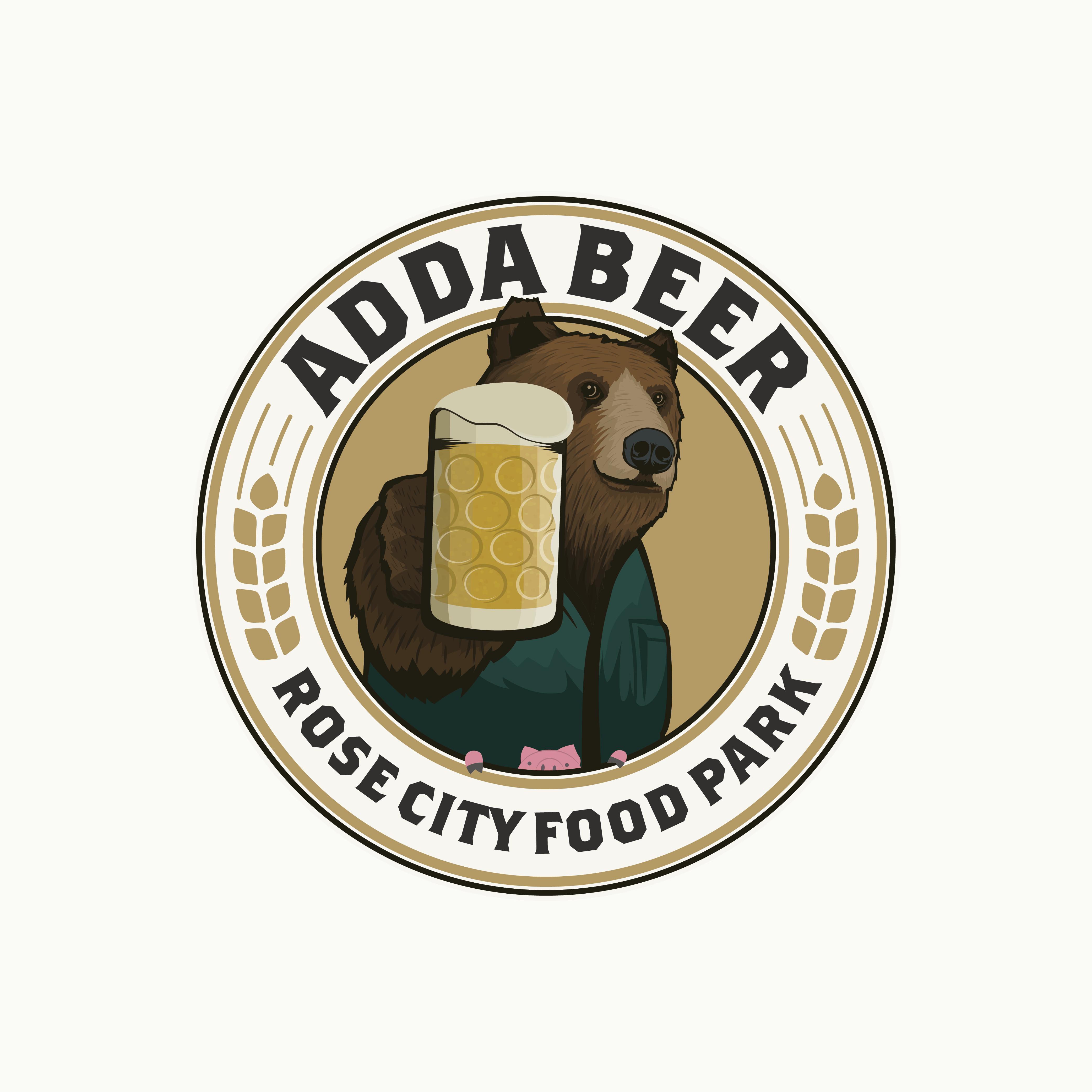 Design for Adda Beer, a beer cart.