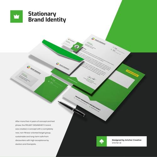 Professional Stationary Design