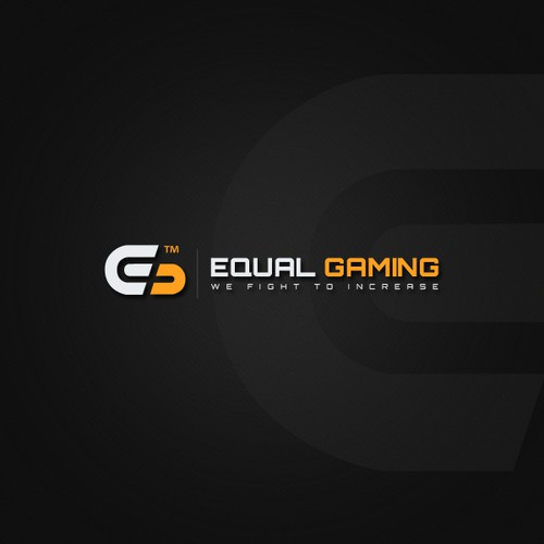 Create a professional logo for an equal representation gaming blog