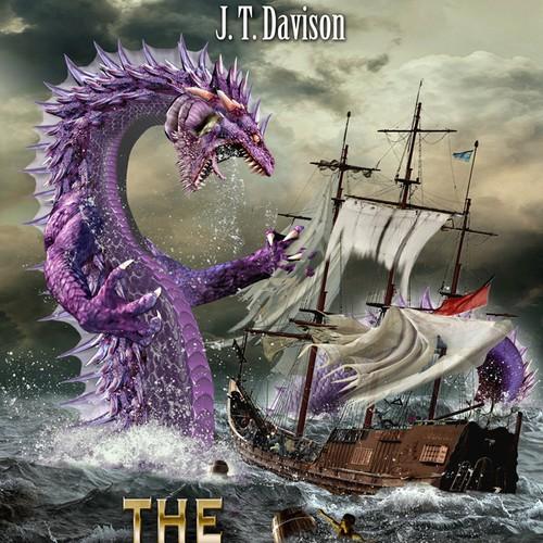 Cover design for fantasy novel