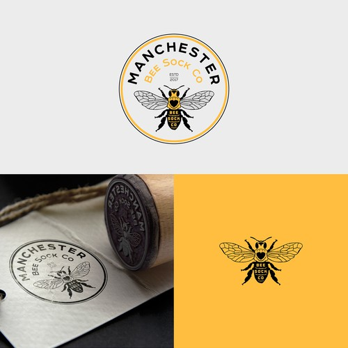 Manchester Bee Sock Co
