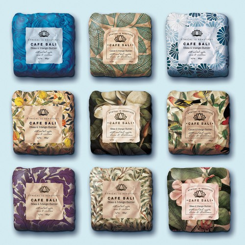 Boutique soap bar packaging concept
