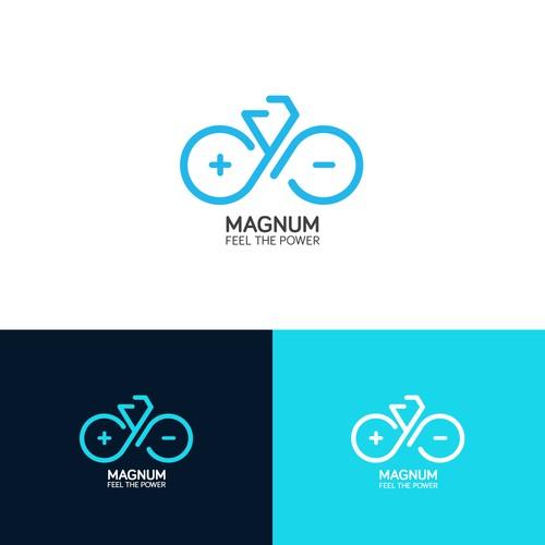 Magnum Bikes Logo Concept