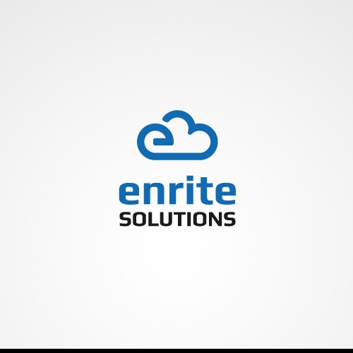 Create the next logo and business card for Enrite Solutions