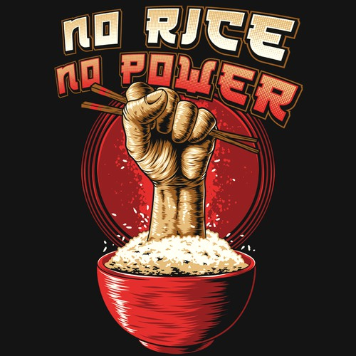 No rice, no power!