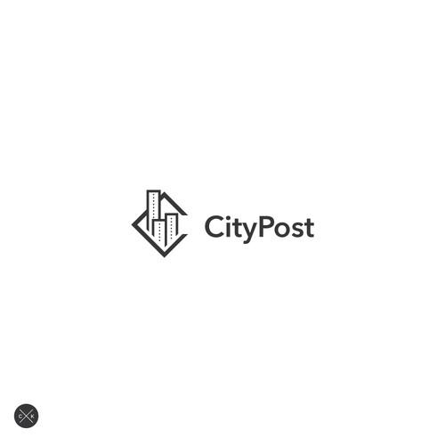 Minimalist Logo for Modern Construction Supplier