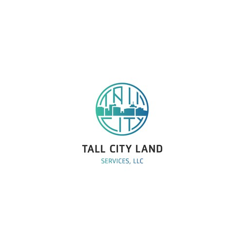 Logo design for Tall City Land Services LLC