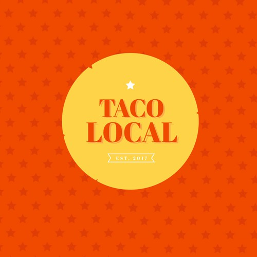 Bold but sophisticated logo idea for taco truck company!