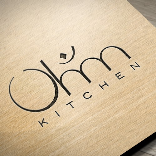Create a logo for modern kitchen meets mystic creativity