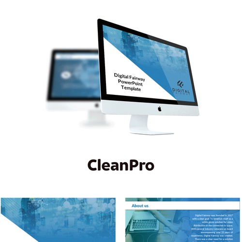 PPT Template for Software business