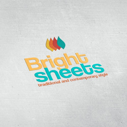 Make a creative and colorful logo for brightsheets
