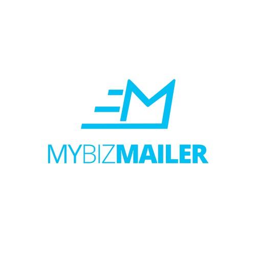 Simple logo design for MyBizMailer