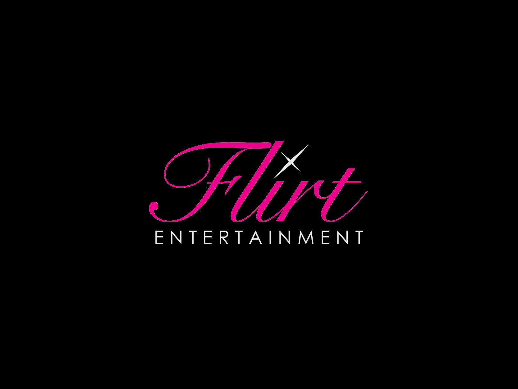 Design me the most catchy logo for our Dance Agency.Flirt Entertainment needs a new logo