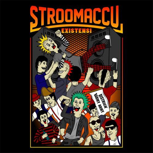 punkrock t-shirt design