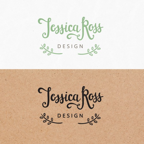 Handcrafted, sophisticated and simplistic Interior Designers Logo