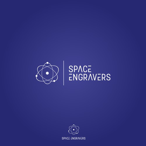 Modern Logo for Space Engravers
