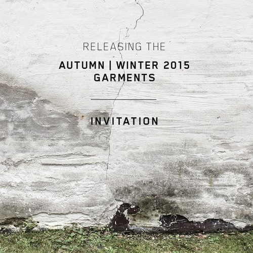 Postcard for menswear season launch