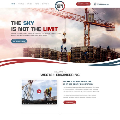 Powerful Website for A Growing Engineering Firm