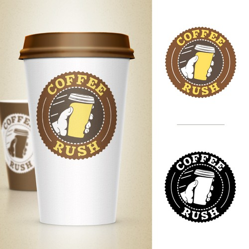 "Create an innovative and fresh brand for ""Coffee Rush"""