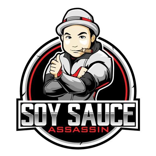 Soy Sauce Assassin logo