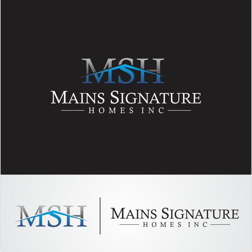 Help Mains Signature Homes Inc. with a new logo