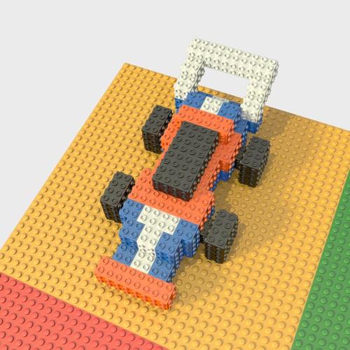 Racecar (3D briks)