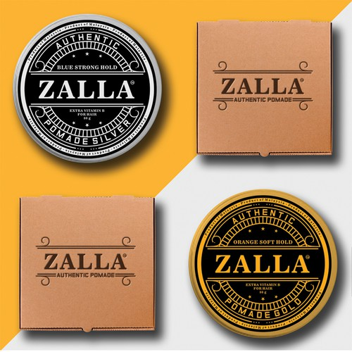 Authentic pomade Zalla