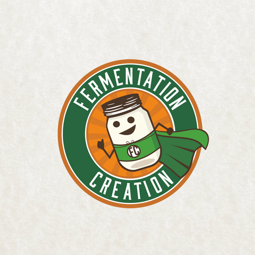 Fermentation Creation logo design