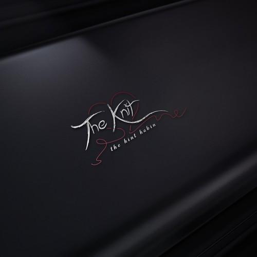 THE KNIT logo design