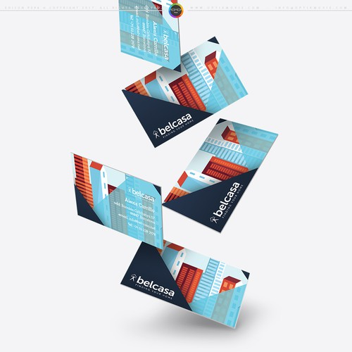 Bel Casa Business Card Design