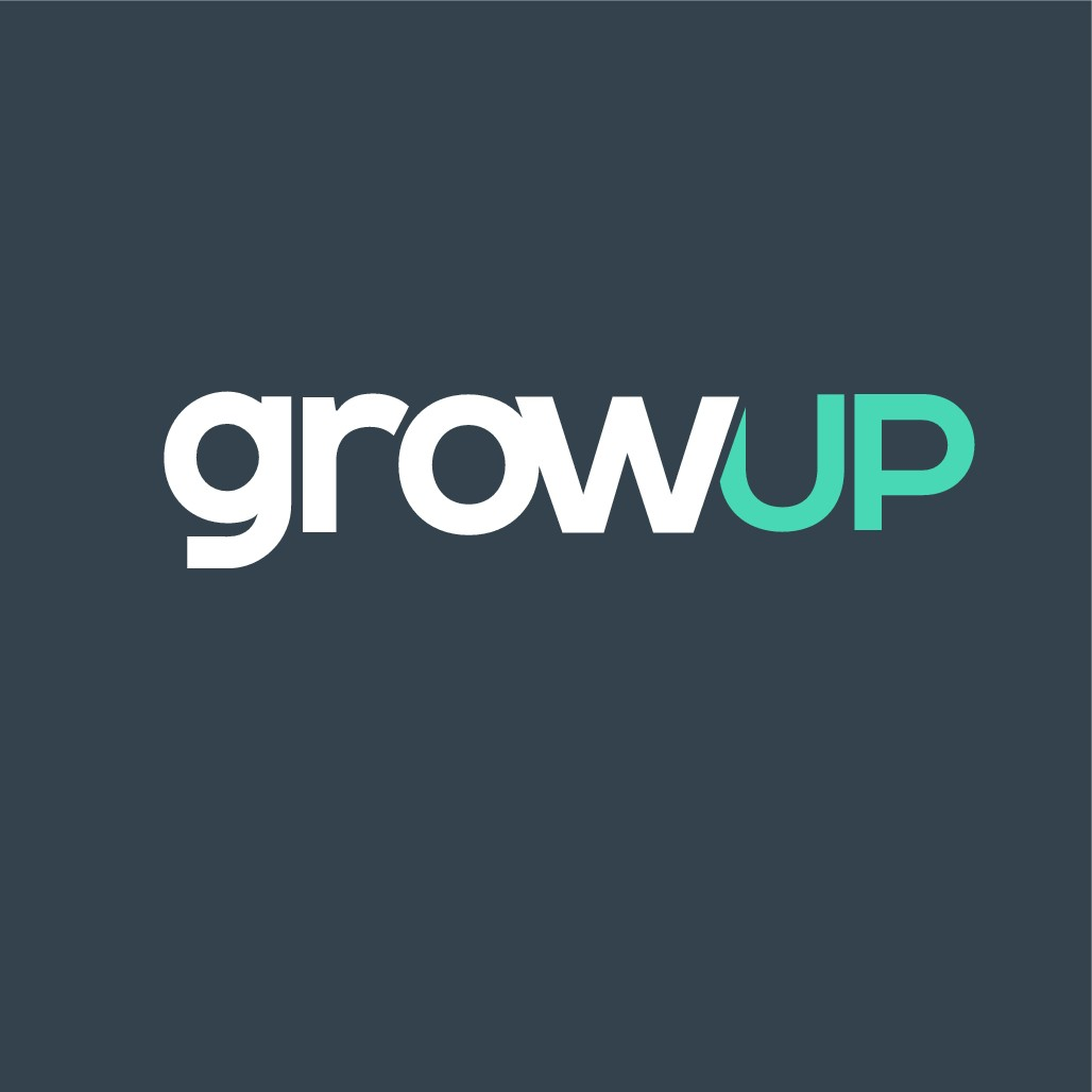 Growup needs a serious, but playful logo for a digital marketing blog.